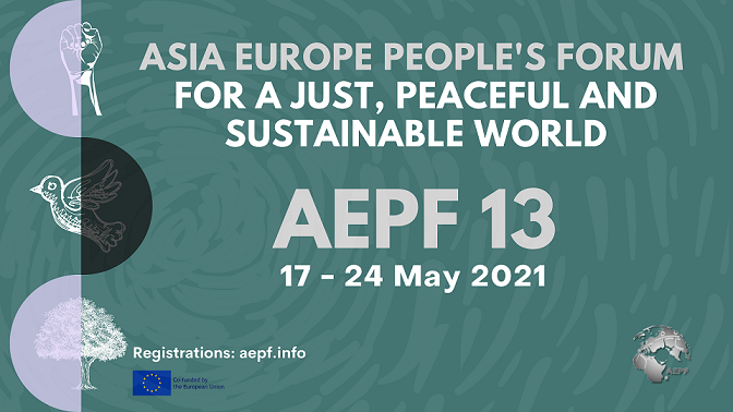 Asia Europe People's Forum for a Just, Peaceful and Sustainable World