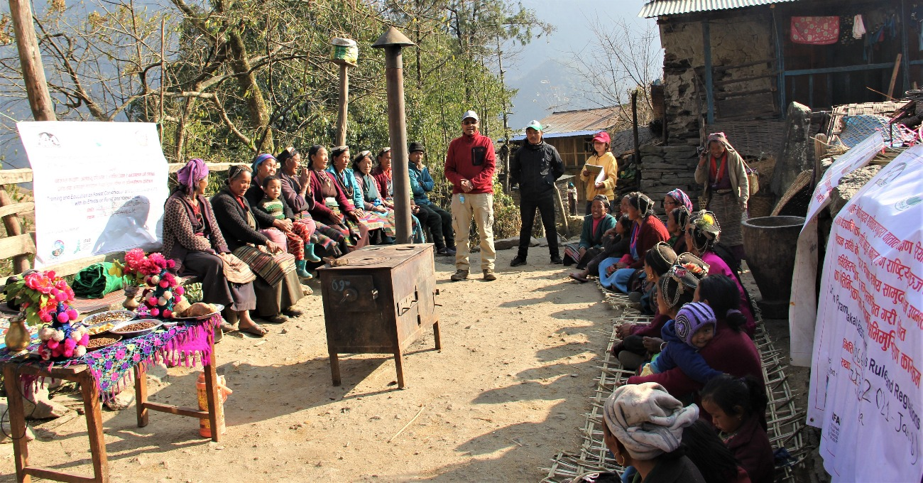 EcoHimal as  the Winner_ A photo Essay_Creating Smoke-Free Kitchens in Nepal through Indigenous Community Empowerment