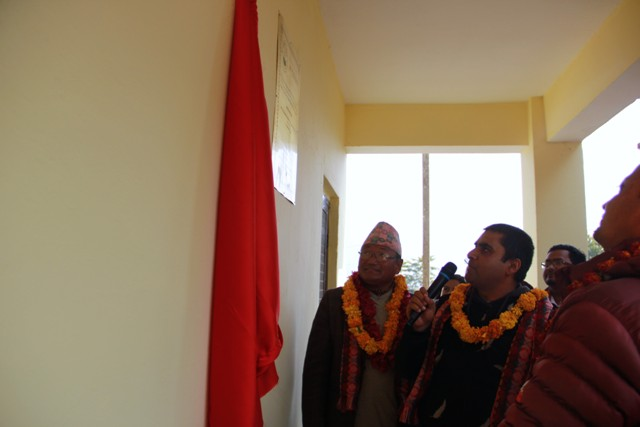 Inauguration and Hand Over of Reconstructed School Buildings in Kavreplanchowk
