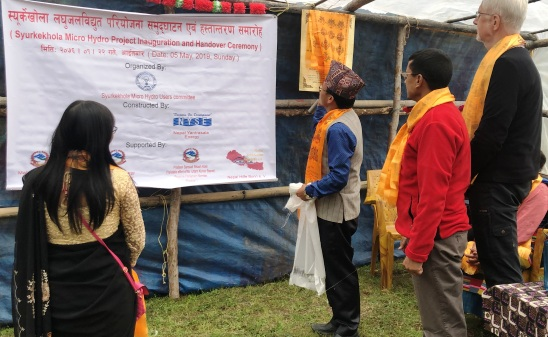 Inauguration and Hand Over of Syurkekhola Micro Hydro Project