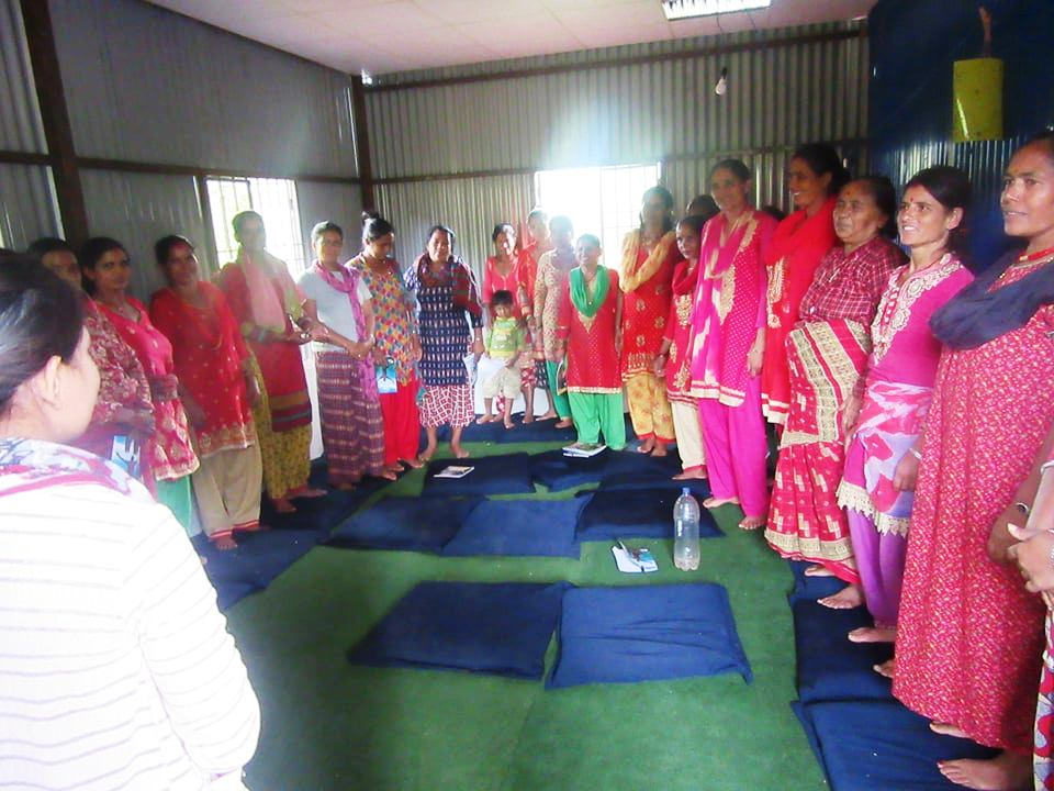 Local women trained in climate change adoptation practices
