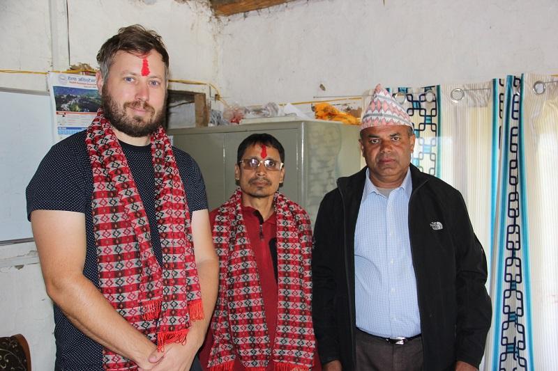 TGT Co-Director Mr. Morgan Philips visit