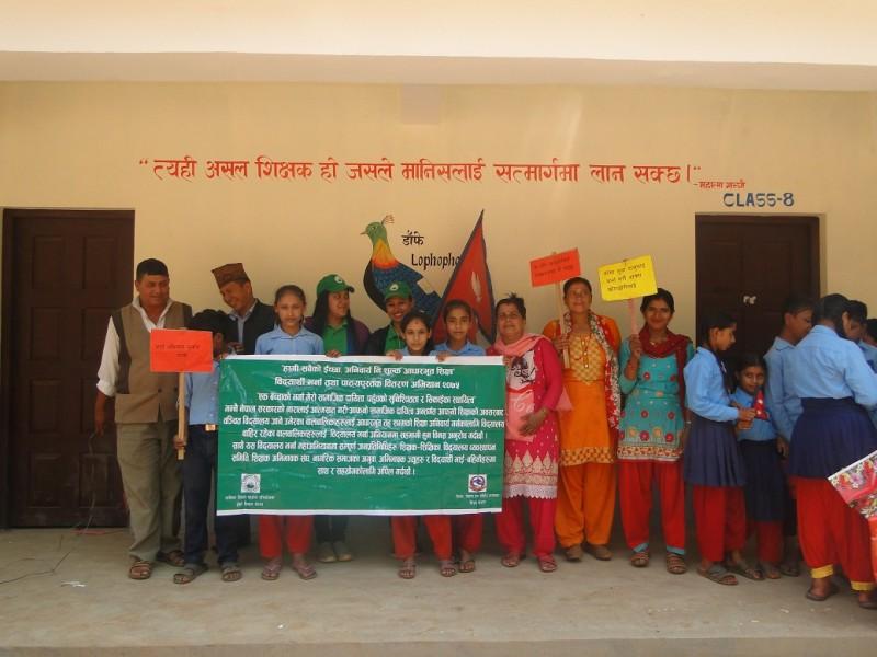 Post Earthquake Rural Education Support Program (Jun 2016 – May 2019)