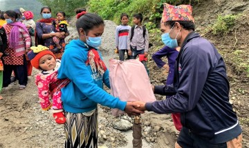 Relief to Rural Children in COVID-19 Pandemic in Khotang districts of Nepal